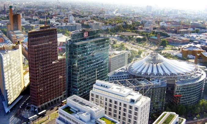 Potsdamer Platz - Pontos turísticos em Berlim - Alemanha
