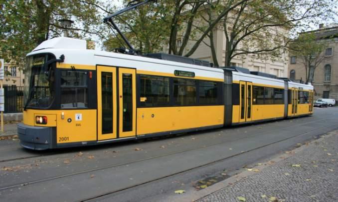 Transporte público em Berlim - alemanha