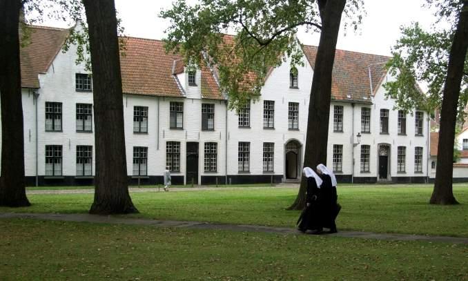 Melhores pontos turísticos em Bruges - Beguine bruges