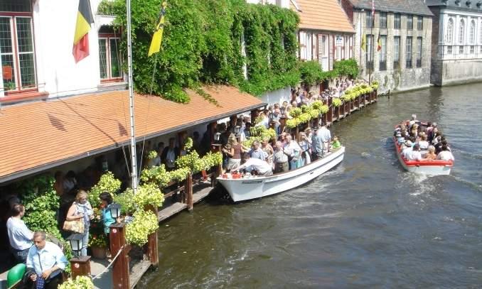 Melhores pontos turísticos em Bruges - Boottochten Bruges