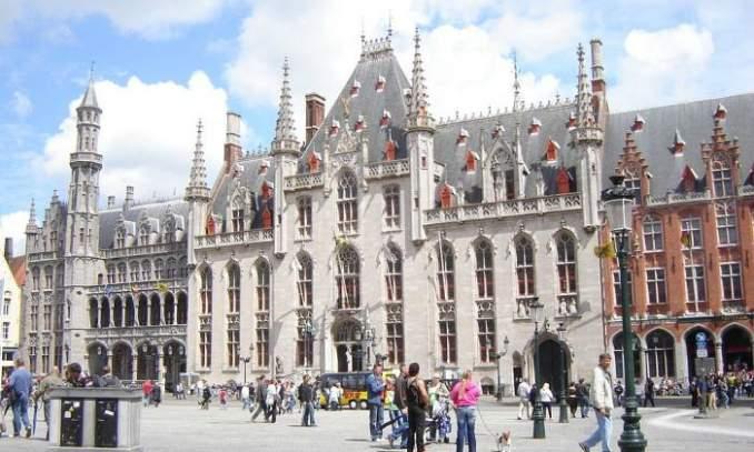 Melhores pontos turísticos em Bruges - Courthouse