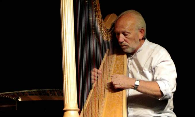 Melhores pontos turísticos em Bruges - Luc Vanlaere harpista