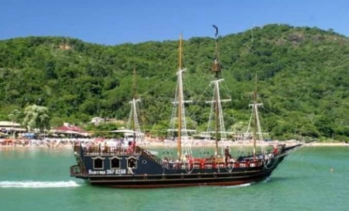 Melhores pontos turísticos em Balneário Camboriú - Passeio de Barco