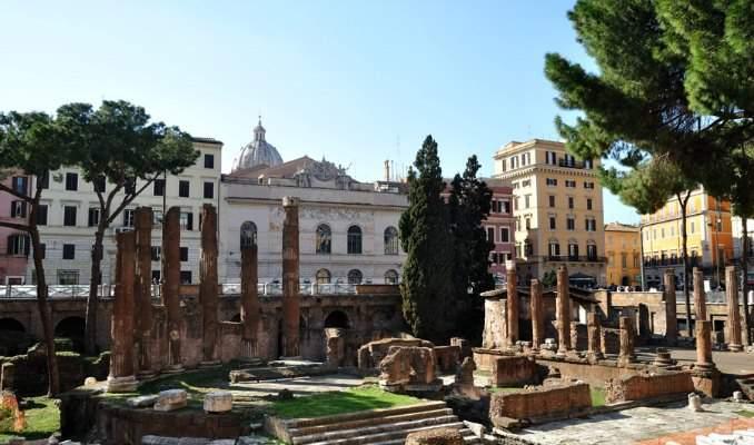 Melhores pontos turísticos em Roma - Área Sacra