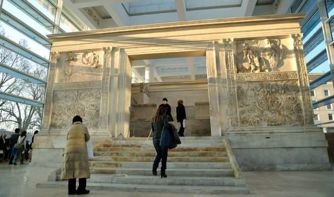 Melhores pontos turísticos em Roma - Ara Pacis