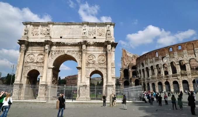 Melhores pontos turísticos em Roma - Arco de Constantino