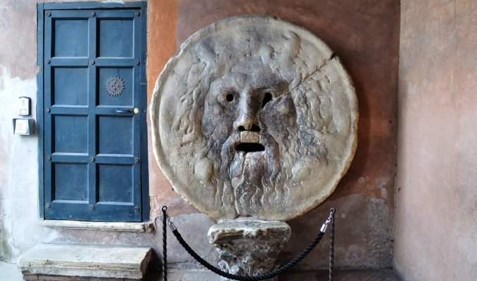 Melhores pontos turísticos em Roma - Boca da Verdade