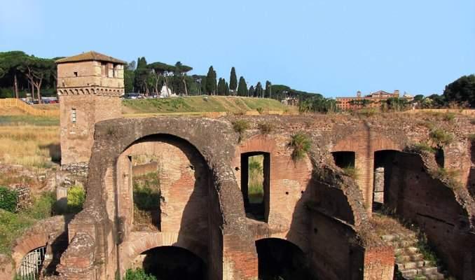 Melhores pontos turísticos em Roma - Circus Maximus