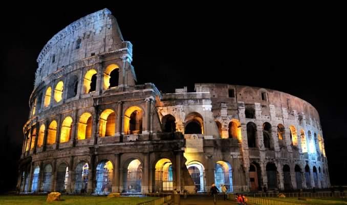 Melhores pontos turísticos em Roma - Coliseu
