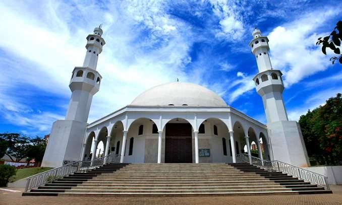 Melhores pontos turísticos Foz do Iguaçu - Mesquita Muçulmana