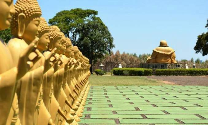 Melhores pontos turísticos Foz do Iguaçu - Templo Budista