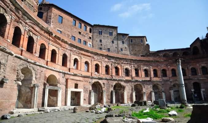 Melhores pontos turísticos em Roma - Mercado de Trajano