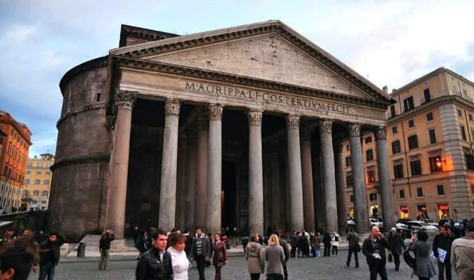 Melhores pontos turísticos em Roma - Pantheon
