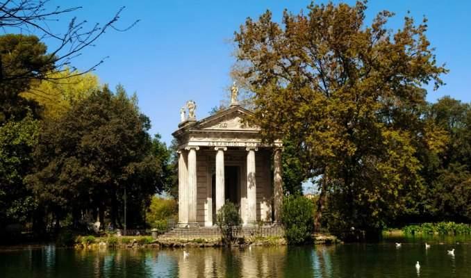 Melhores pontos turísticos em Roma - Villa Borghese