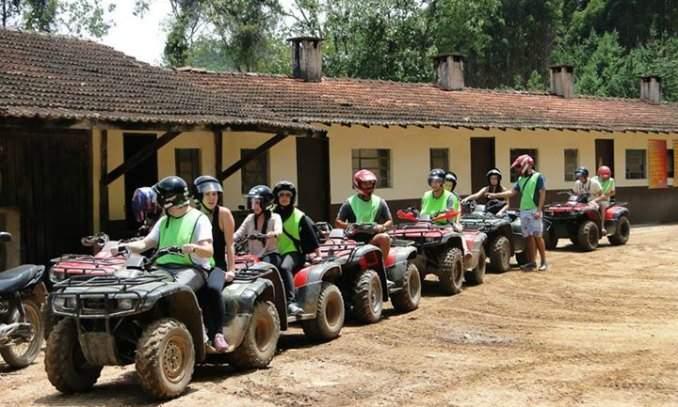 passeio quadriciclo monte verde - fazenda aventura